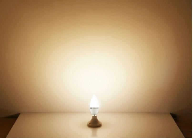 Macht warmes Licht