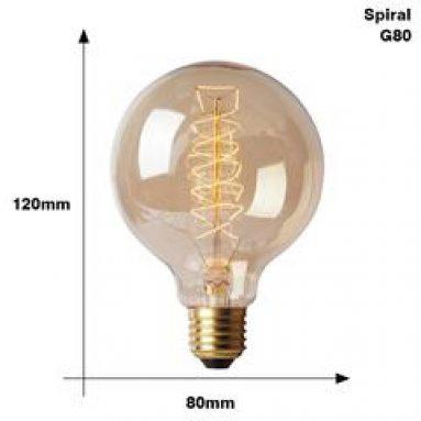Retro Edison Glühbirne E27 220V 40W